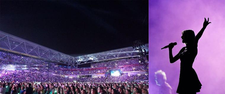 06/12/15 - Photoshoot . Candids . News . Twitter . Magazine . Soirée . Vidéo . Interview . Concert . Tumblr . Instagram . Taylor a posté des photos de son concert à Brisbane de la veille et des photos avec des kangourous.