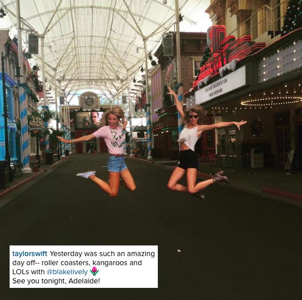 06/12/15 - Photoshoot . Candids . News . Twitter . Magazine . Soirée . Vidéo . Interview . Concert . Tumblr . Instagram . Taylor et Blake Lively se sont baladées dans un zoo près d'Adelaide en Australie et ont posé avec des fans.