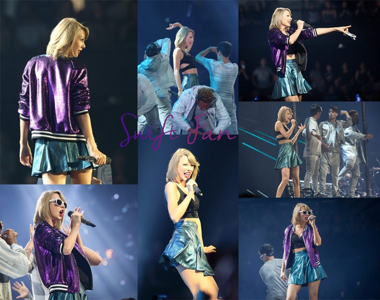 07/12/15 - Photoshoot . Candids . News . Twitter . Magazine . Soirée . Vidéo . Interview . Concert . Tumblr . Instagram . 1989 World Tour - Adelaide (Australie) #1 - Taylor a chanté You Are In Love et n'a chanté This Love et All You Had To Do Was Stay.