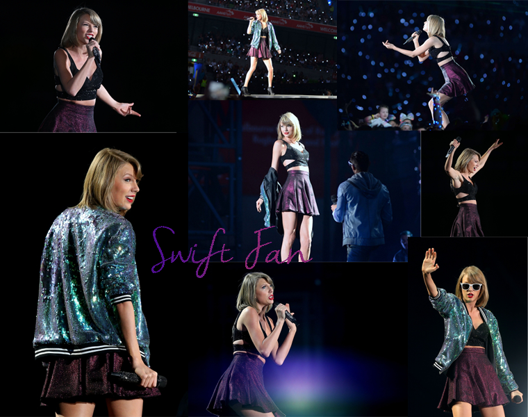 10/12/15 - Photoshoot . Candids . News . Twitter . Magazine . Soirée . Vidéo . Interview . Concert . Tumblr . Instagram . 1989 World Tour - Melbourne (Australie) #1 - Taylor a chanté You Are In Love et n'a chanté This Love et All You Had To Do Was Stay.