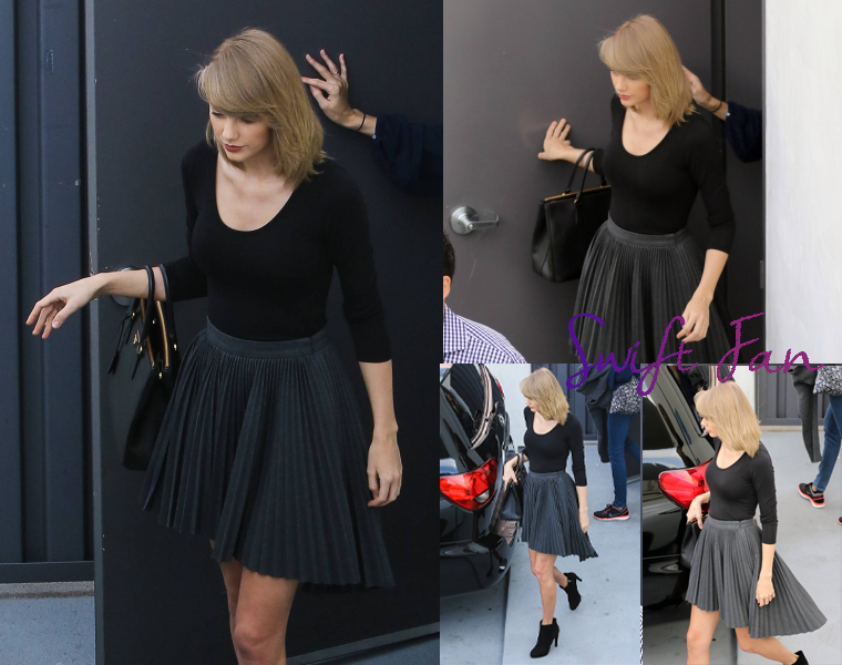 17/01/16 - Photoshoot . Candids . News . Twitter . Magazine . Soirée . Vidéo . Interview . Concert . Tumblr . Instagram . Taylor est sortie du restaurant Boa Steakhouse à Los Angeles.