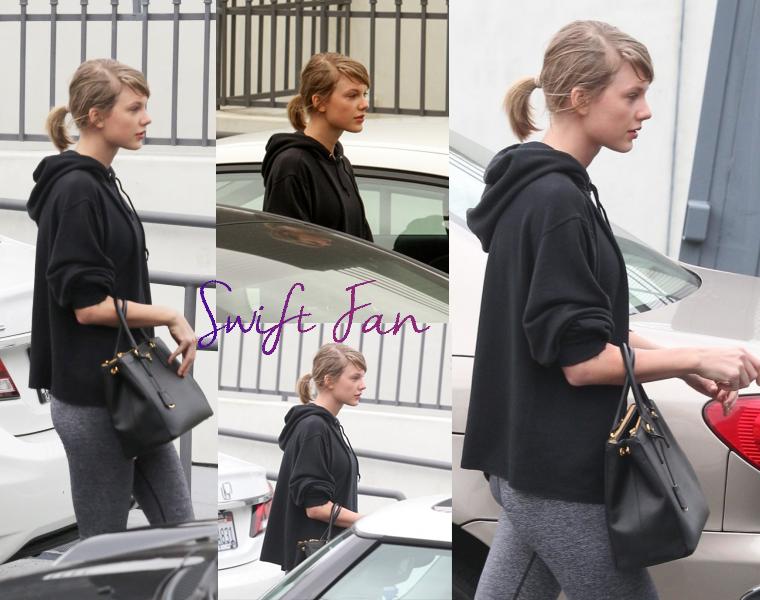 18/01/16 - Photoshoot . Candids . News . Twitter . Magazine . Soirée . Vidéo . Interview . Concert . Tumblr . Instagram . Taylor s'est rendue à la gym avec Selena Gomez à Los Angeles.