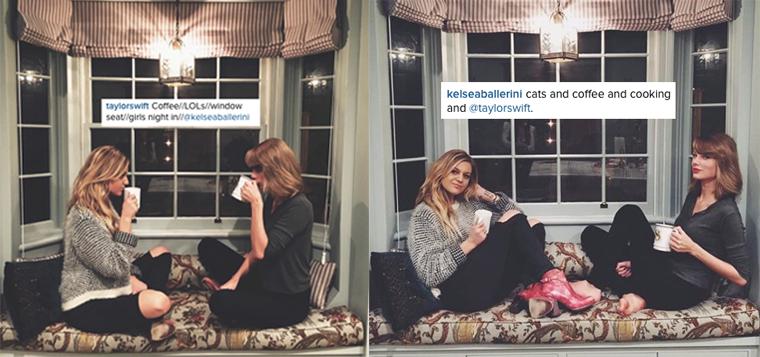25/01/16 - Photoshoot . Candids . News . Twitter . Magazine . Soirée . Vidéo . Interview . Concert . Tumblr . Instagram . Taylor a posté sur Instagram une photo avec Kelsea Ballerini et Kelsea en a postée une autre.