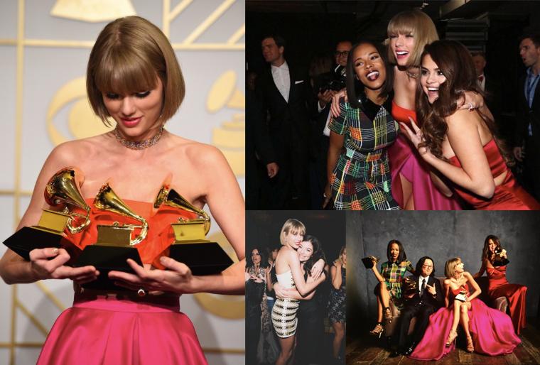 16/02/16 - Photoshoot . Candids . News . Twitter . Magazine . Soirée . Vidéo . Interview . Concert . Tumblr . Instagram . Taylor a posté des photos de la nuit des Grammy Awards.