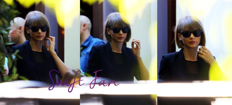 16/02/16 - Photoshoot . Candids . News . Twitter . Magazine . Soirée . Vidéo . Interview . Concert . Tumblr . Instagram . Taylor est allée déjeuner avec ses parents au restaurant Cecconi's à West Hollywood, à Los Angeles.
