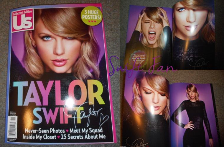 26/02/16 - Photoshoot . Candids . News . Twitter . Magazine . Soirée . Vidéo . Interview . Concert . Tumblr . Instagram . Le magazine US a dédié son édition collector du mois de juin à Taylor Swift.
