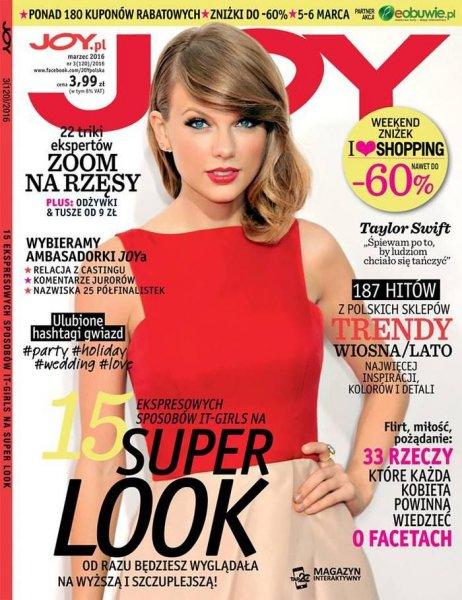 02/03/16 - Photoshoot . Candids . News . Twitter . Magazine . Soirée . Vidéo . Interview . Concert . Tumblr . Instagram . Taylor fait la couverture de plusieurs magazines pour le mois de mars 2016.