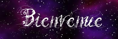 Bienvenue sur mon blog!