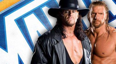 Undertaker(18-0 A Wrestlemania) Vs Triple H