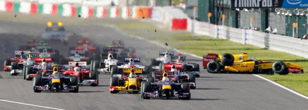 FORMULE  1  ,  GRAND  PRIX  DU  JAPON  :  LA  COURSE