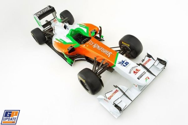 FORMULE 1  :  ECURIE  FORCE  INDIA