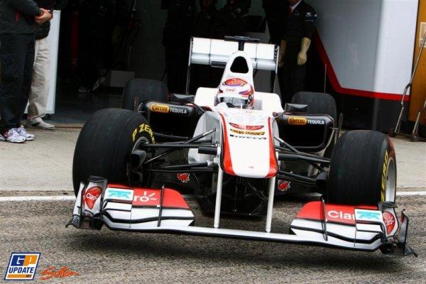 FORMULE 1  :  ECURIE  SAUBER  F1  TEAM