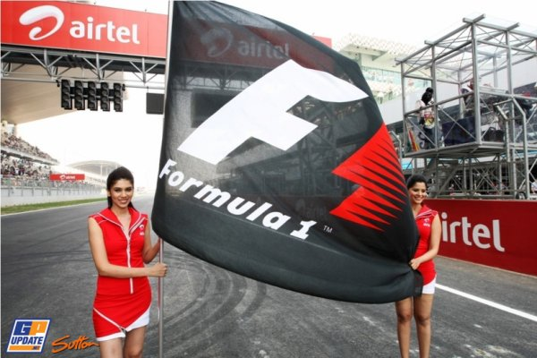 FORMULE 1 : GRAND PRIX EN INDE A NEW DELHI , LA COURSE