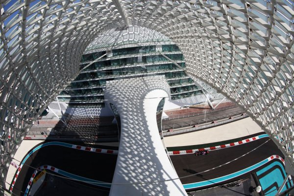 Formule 1 grand prix d 39 abu dhabi a yas marina grille - Grille de depart formule 1 ...