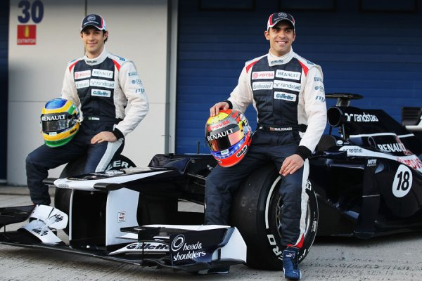 FORMULE 1 , PRESENTATION DE LA WILLIAMS