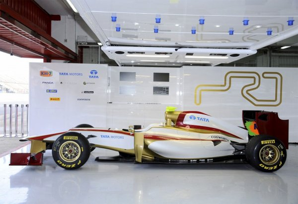 FORMULE 1 : PRESENTATION DE L' HISPANIA RACING TEAM