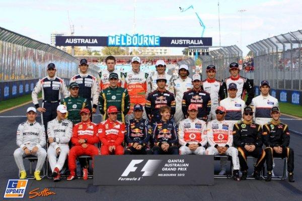 FORMULE 1 : GRAND PRIX D ' AUSTRALIE A MELBOURNE , LA COURSE