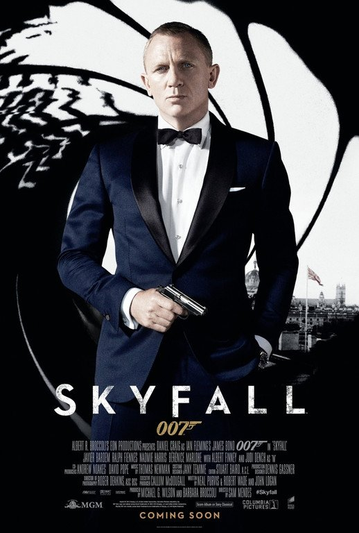 JAMES BOND 007 : SKYFALL , Vendredi JOUR J