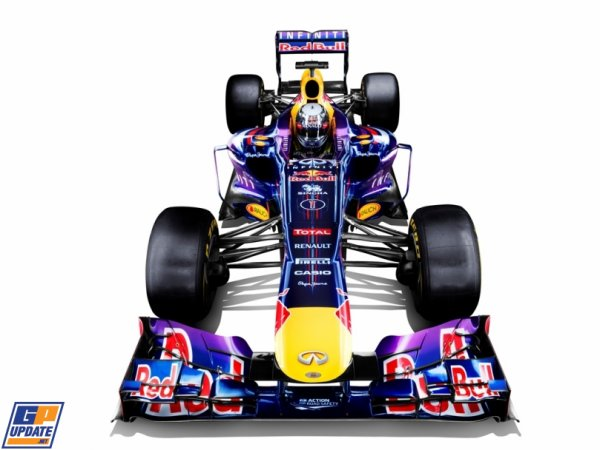 FORMULE 1 : PRESENTATION DE LA RED BULL RB9