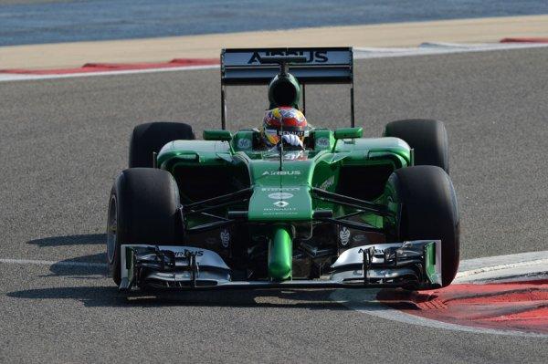FORMULE 1 SAISON 2014 : CATERHAM  F1  TEAM