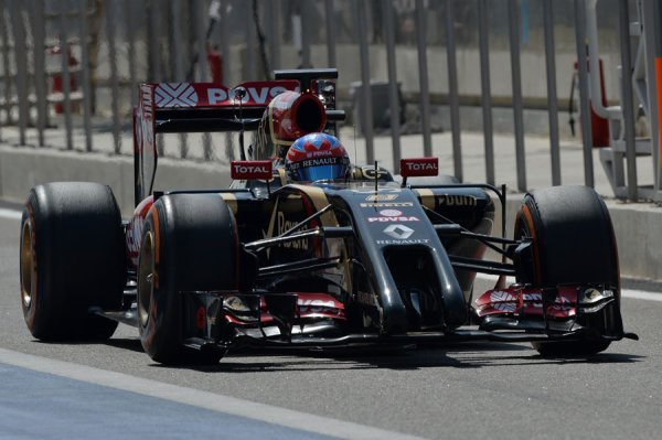 FORMULE 1 , SAISON 2014 : LOTUS  F1  TEAM