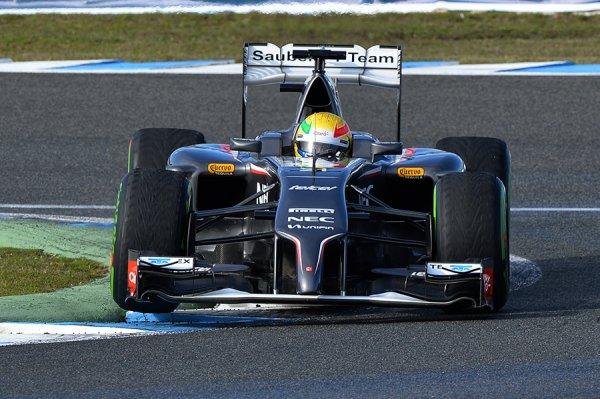 FORMULE 1 , SAISON 2014 : SAUBER  F1  TEAM