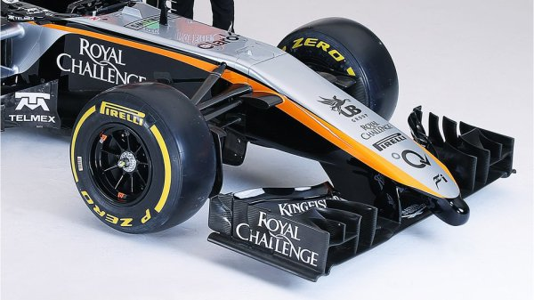 FORMULE 1 , SAISON 2015 : PRESENTATION DE L'ECURIE : SAHARA FORCE INDIA F1