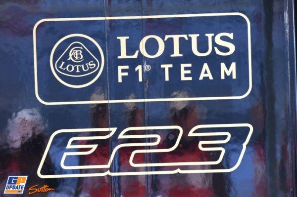 FORMULE 1 , SAISON 2015 : PRESENTATION DE L'ECURIE : LOTUS F1 TEAM