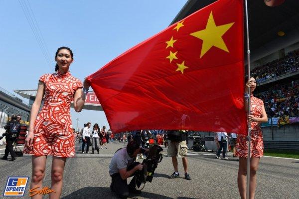 FORMULE 1 : GRAND PRIX DE CHINE A SHANGHAI , LA COURSE