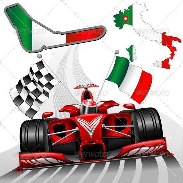FORMULE 1 : GRAND PRIX D' ITALIE A MONZA , GRILLE DE DEPART