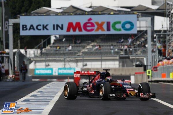 FORMULE 1 : GRAND PRIX DU MEXIQUE , LA COURSE
