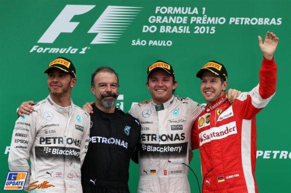 FORMULE 1 : GRAND PRIX DU BRESIL A SAO PAULO