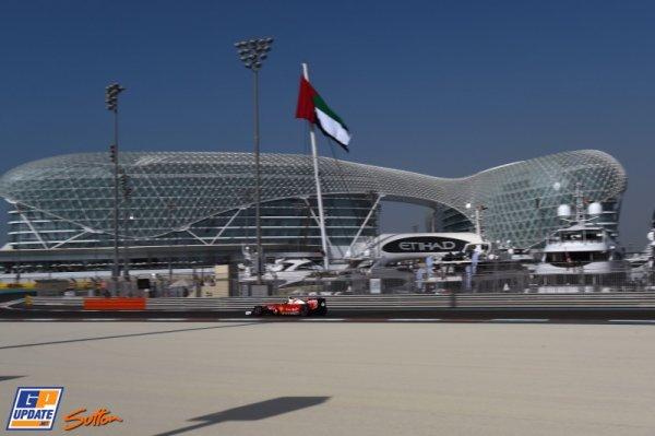 FORMULE 1 : GRAND PRIX D'ABU DHABI , LA GRILLE DE DEPART