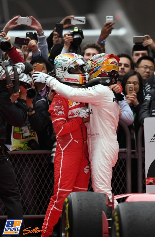 FORMULE 1 : GRAND PRIX DE CHINE , LA COURSE