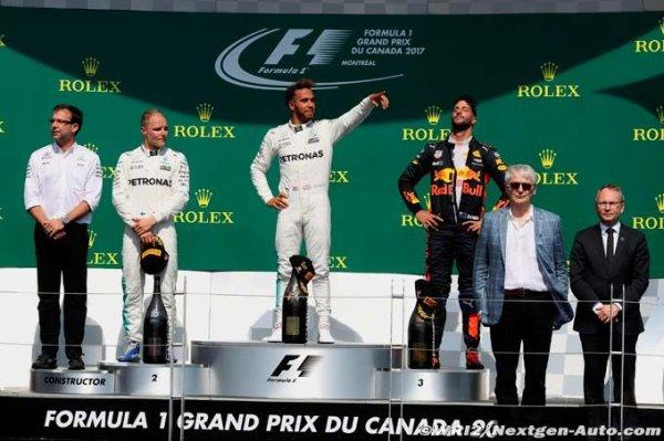 FORMULE 1 : GRAND PRIX DU CANADA A MONTREAL , LA COURSE
