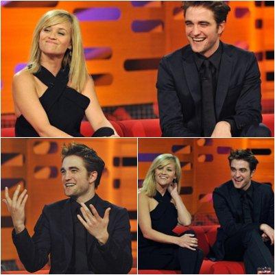 Robert au  The Graham Norton Show: 4Mai 2011
