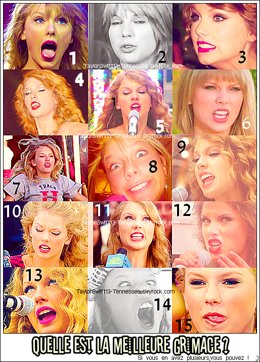 ~ Les grimaces de Miss Swift ~