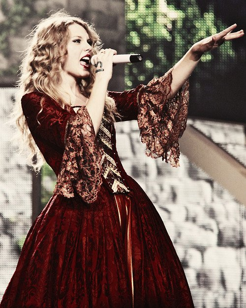 """People haven't always been there for me but music always has.""Taylor Swift"