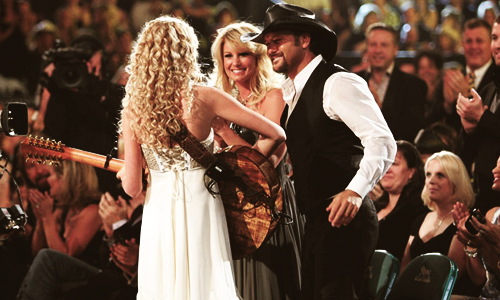 ● Taylor et Tim McGraw ●