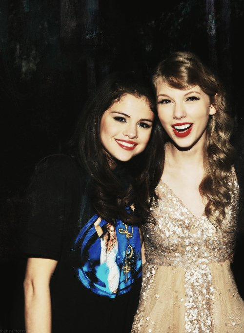 """""""The difference between Taylor and me is she was sixteen with the confidence of a 25-year-old. Actually, I should say 80-year-old, because she's such an old soul. I was not that way. I was very sheltered until about eighteen or nineteen. I still live at home, and I'm 21! She does inspire me like crazy, but I wouldn't change my path, because it allowed me to figure out all that stuff and do it on my own."""" Selena Gomez (Teen Vogue December 2013/January 2014"""