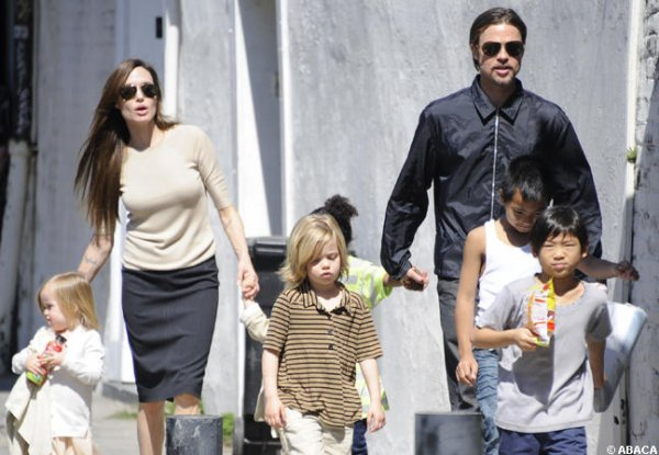 Brad Pitt et Angelina Jolie : Un voleur s'est introduit dans leur voiture