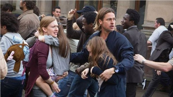 World War Z, film le plus rentable de Brad Pitt