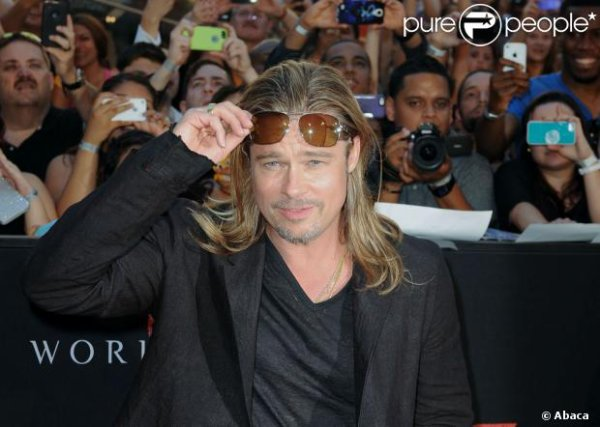 Brad Pitt : World War Z devient son plus grand succès !