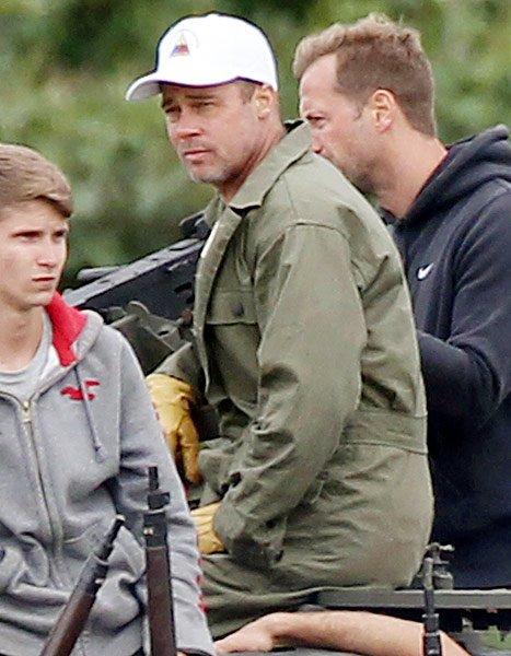Une nouvelle coupe pour Brad Pitt !!!