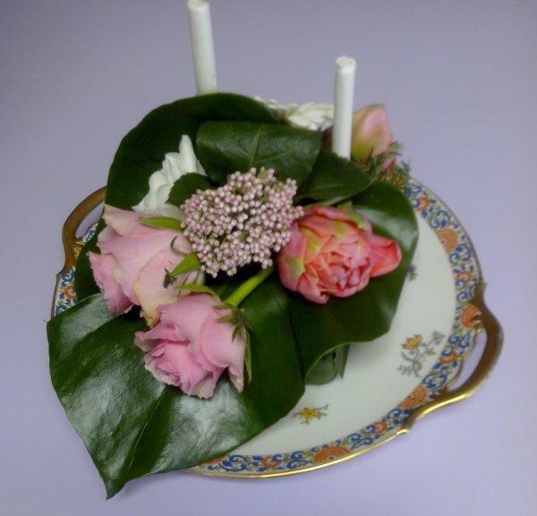 Atelier Cap bonne humeur du 04/03/2017  En rose et blanc