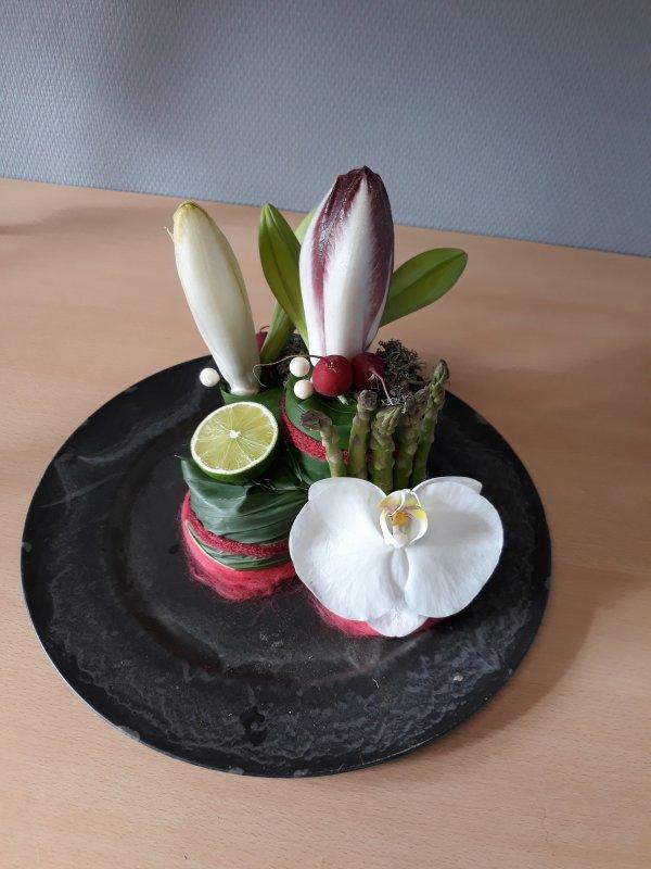 Atelier Cap bonne humeur Atelier du 01/03/2018 Quand les fleurs rencontrent les légumes   suite