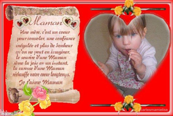 ma fille angelina