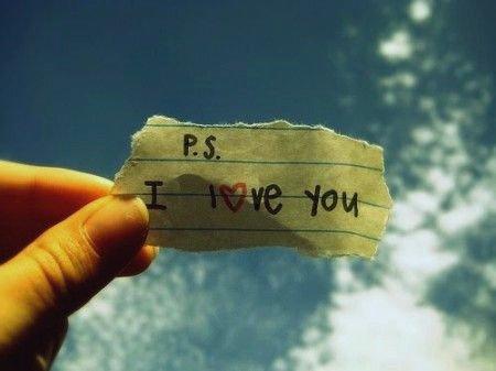 PS : Je t'aimerai toujours