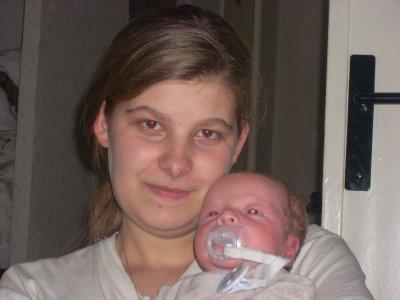 moi et mon fils enzo