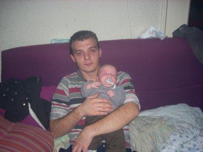 papa et enzo